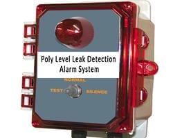 Poly Level Leak Detection Alarm System