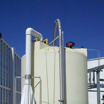 Polyethylene Brine Tank with Dust Bag