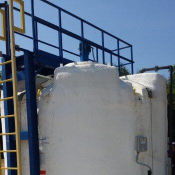 Caustic Soda Storage Tank