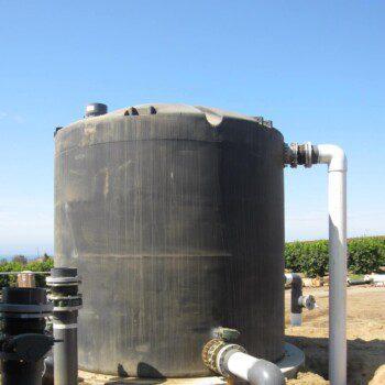 Industrial Water Treatment Tank
