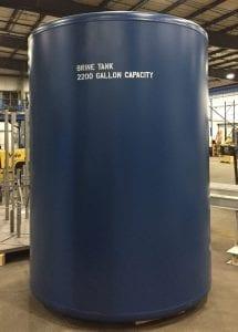 2200 gallon brine tank