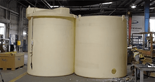 Double-Wall Chemical Storage Tank - SAFE-Tank