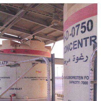 6150 Vertical Tank in Saudi Arabia