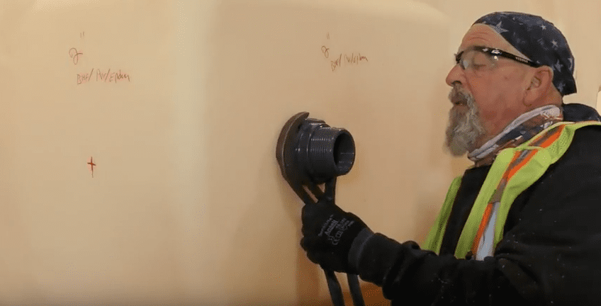 Installing Dome Fittings