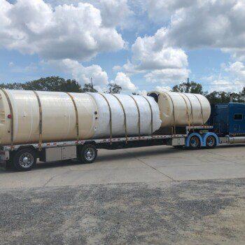 Truckload in MLU Yard