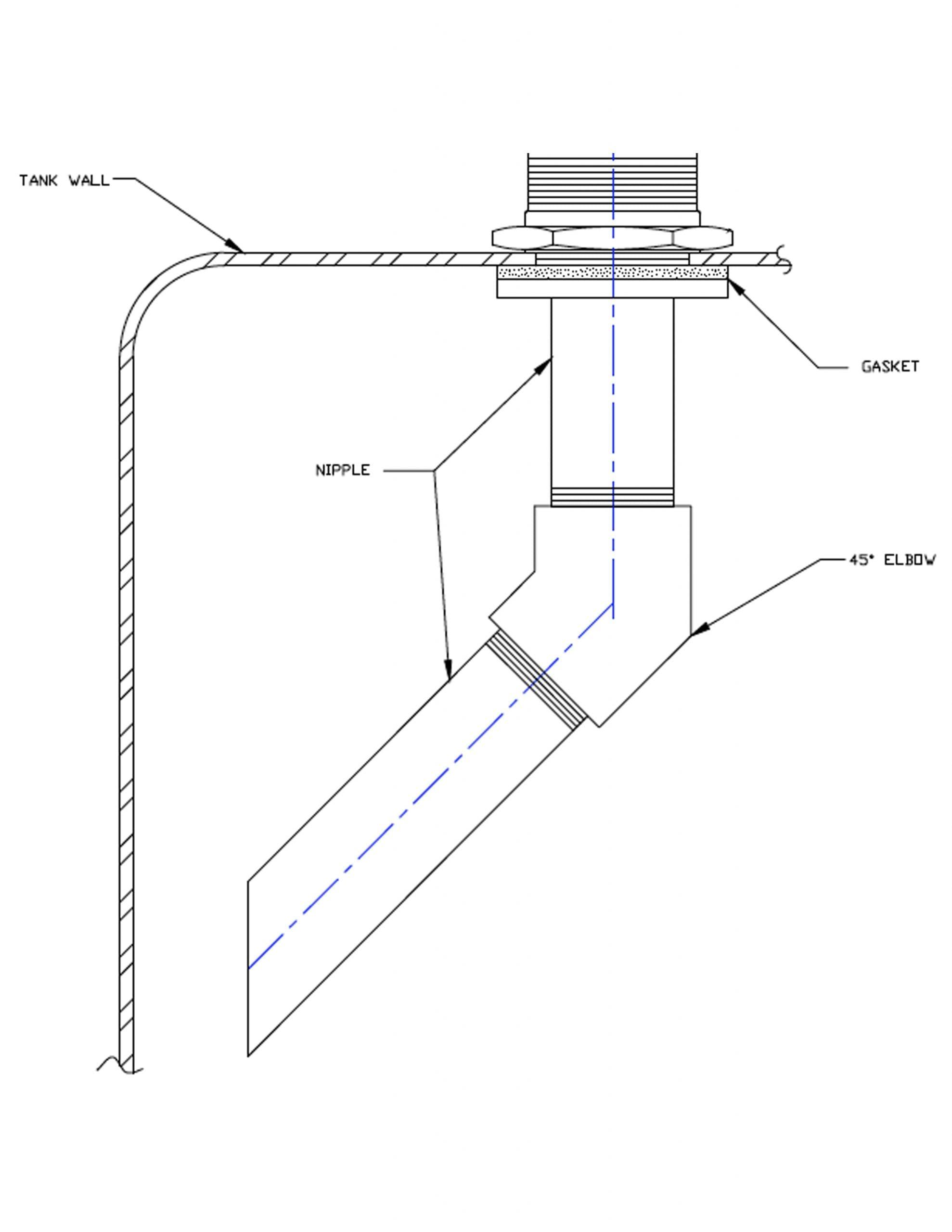 Anti-Foam Fill Assembly