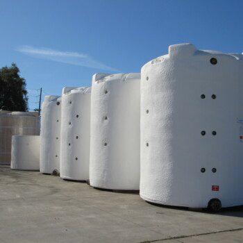 Foamed Tanks Rready for Shipment